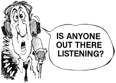 anyone listening