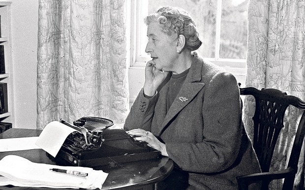 unfurl - Agatha Christie