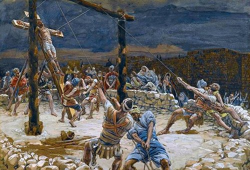 Extravagant - Raising of the Cross, by Tissot